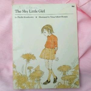 Rare 70s Shy Girl Book